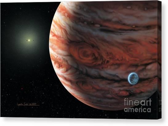 55 Cancri 2007 Canvas Print