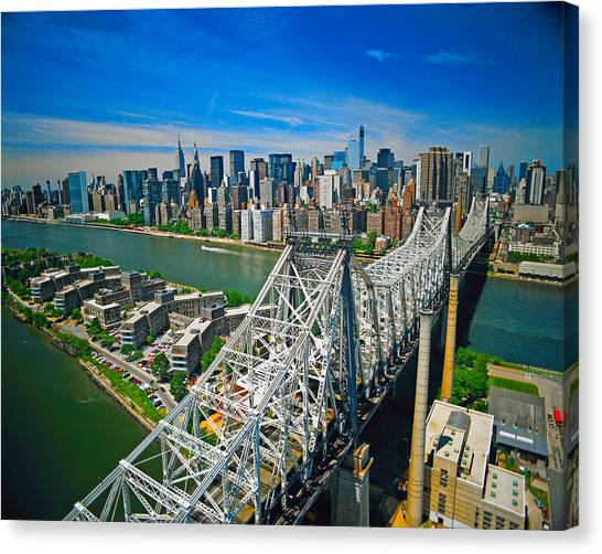 59th Street Bridge Canvas Print