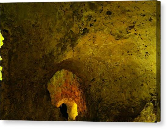 Carlsbad Caverns Canvas Print - A Cave Within A Cave by Jeff Swan