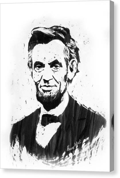 A. Lincoln Canvas Print by Harry West
