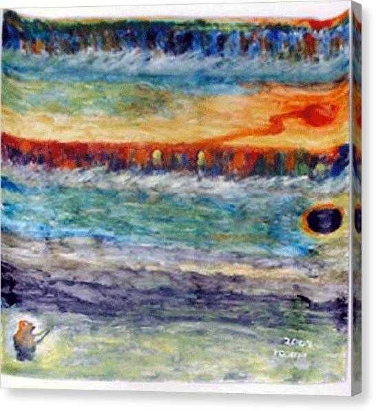 A New Dawn..  Canvas Print by Rooma Mehra
