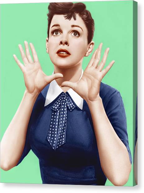 1950s Movies Canvas Print - A Star Is Born, Judy Garland, 1954 by Everett