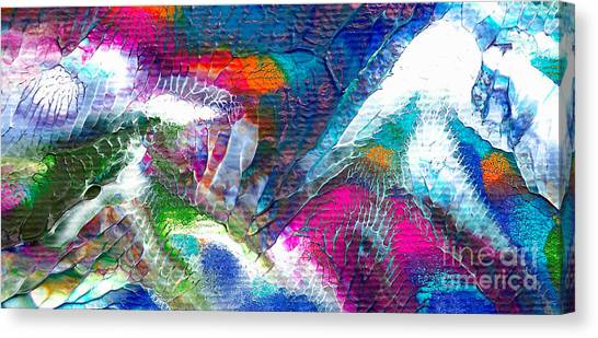 Abstract 10115a Canvas Print