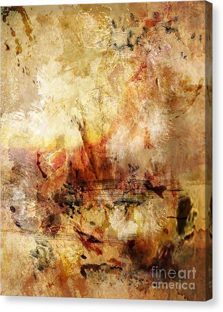 Abstract 132 Canvas Print by Angelina Cornidez