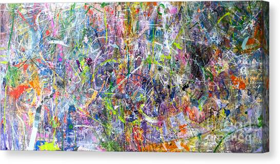 Abstract #87 Canvas Print