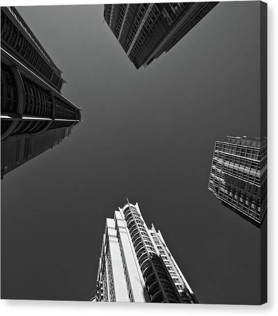 Abstract Architecture - Mississauga Canvas Print