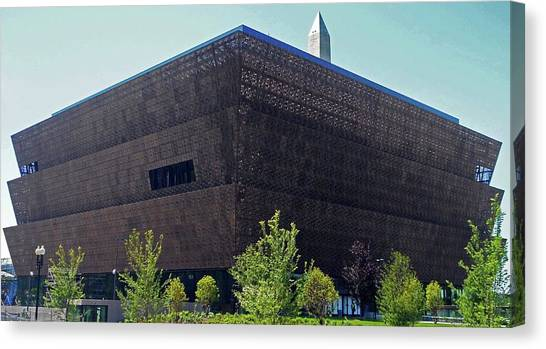 African American Museum 1 Canvas Print