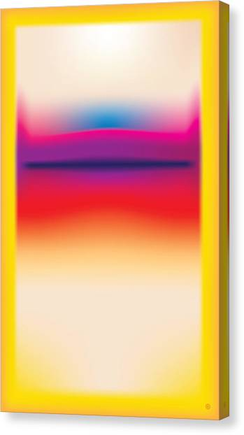 After Rothko 5 Canvas Print