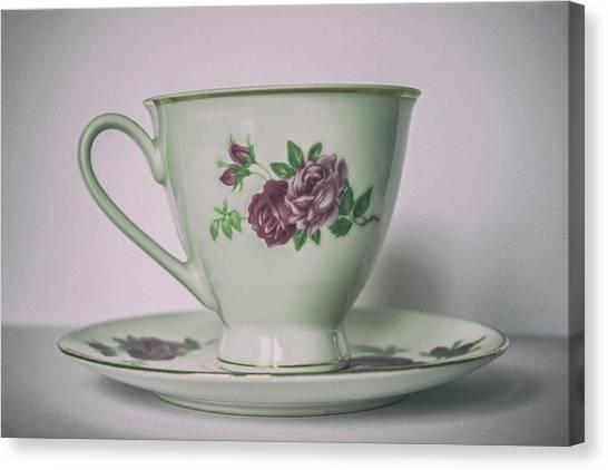 Sweet Tea Canvas Print - Afternoon Tea by Martin Newman