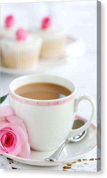 Iced Tea Canvas Print - Afternoon Tea by Ruth Black