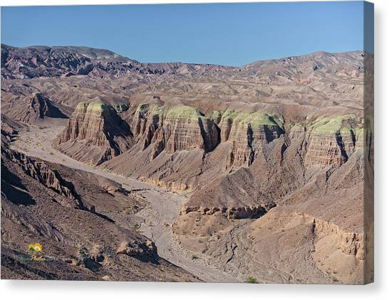 Canvas Print featuring the photograph Afton Canyon by Jim Thompson