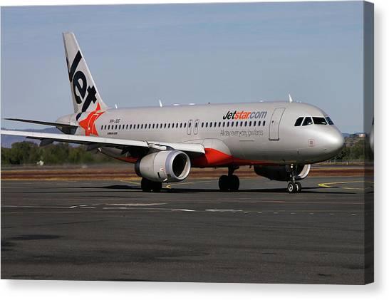Airbus A320-232 Canvas Print