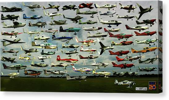 Airventure Cup Air Race, 2017 - Panorama Canvas Print