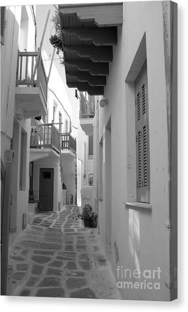 Alley Way Canvas Print