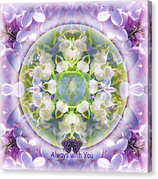 Always With You-2 Canvas Print