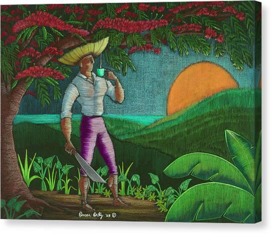 Amanecer En Borinquen Canvas Print