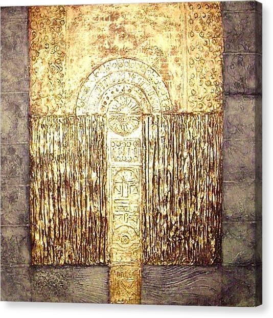 Ancient Golden Temple Canvas Print