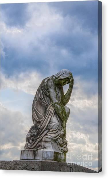 Anguish Canvas Print by Randy Steele