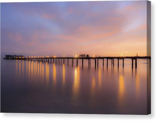 Anna Maria City Pier , Anna Maria Island Sunrise  Canvas Print
