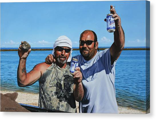 Apalachicola Gold Canvas Print