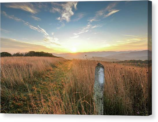 Appalachian Trail Sunrise Canvas Print