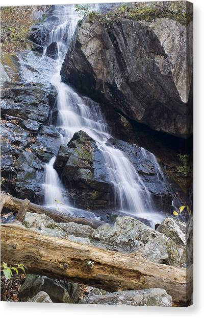 Apple Orchard Falls Canvas Print by Alan Raasch