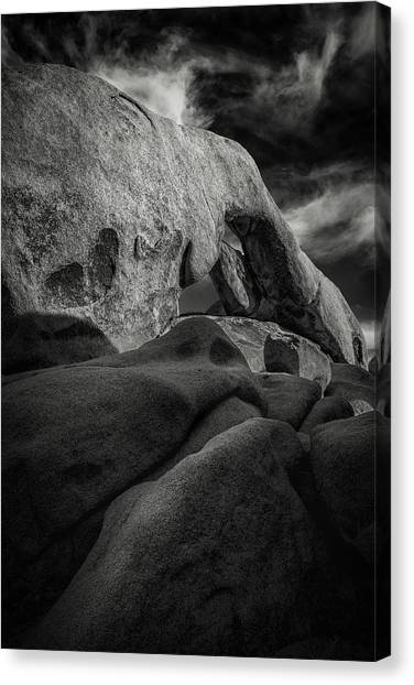 Mojave Desert Canvas Print - Arch Rock by Joseph Smith