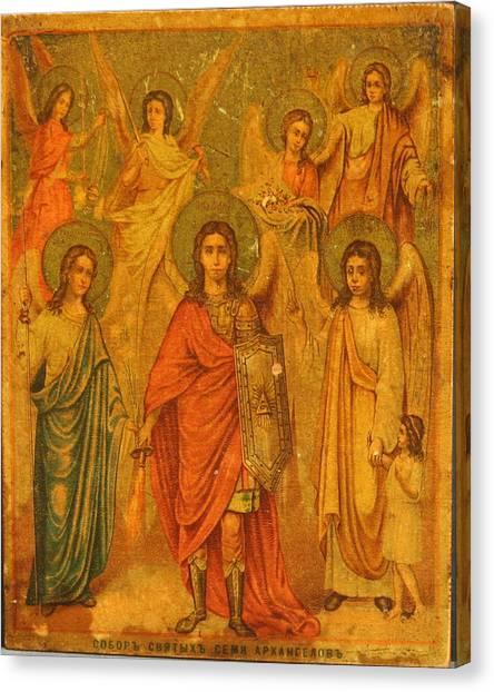 Archangels  Canvas Print by Renaissance Master