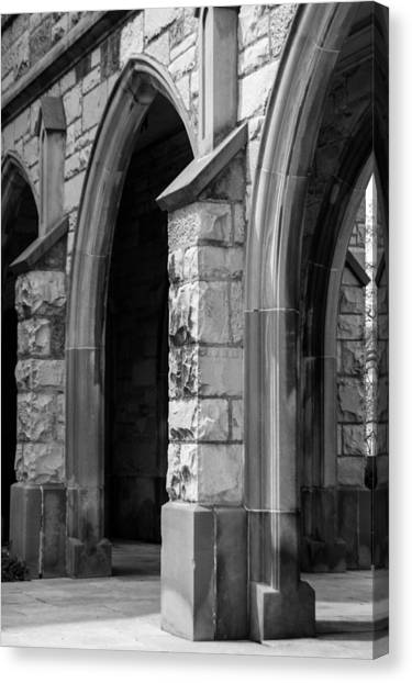 Northwestern University Canvas Print - Arches by Lisa Richards
