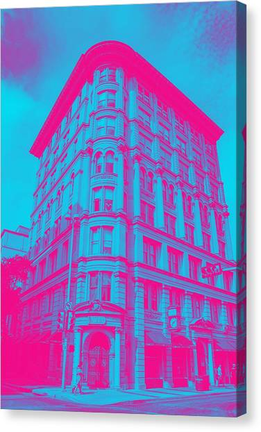 Moscow Skyline Canvas Print - Archtectural Building by Celestial Images