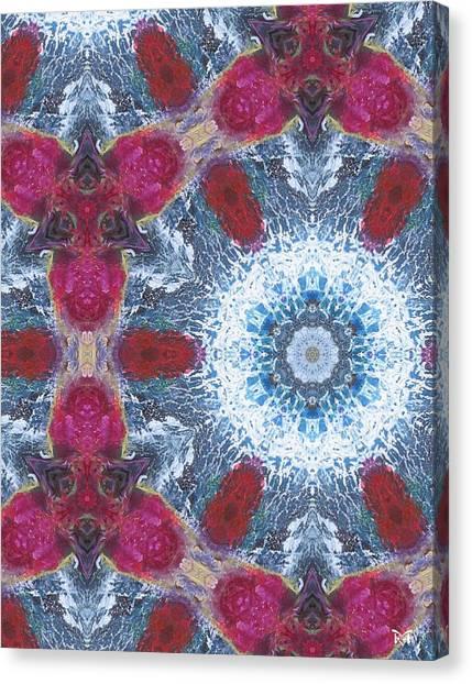 Arctic Blossom Canvas Print