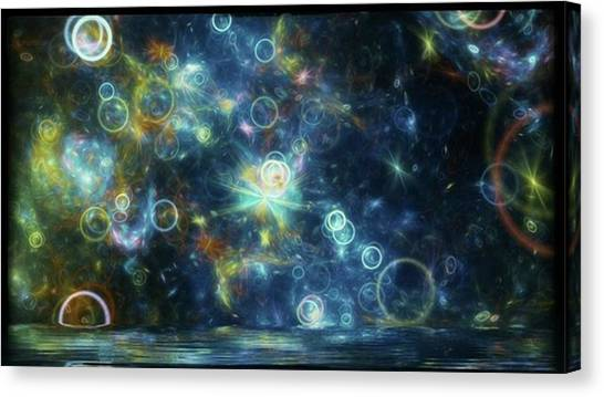 #art #abstract #digitalart Canvas Print by Michal Dunaj