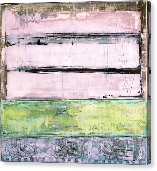 Canvas Print featuring the painting Art Print Sierra 5 by Harry Gruenert