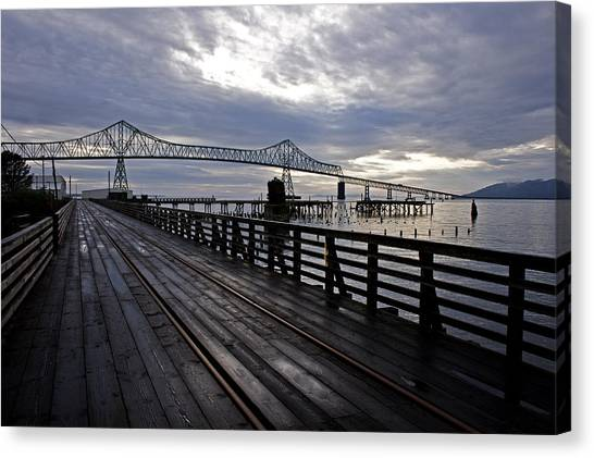 Astoria-megler Bridge 4 Canvas Print
