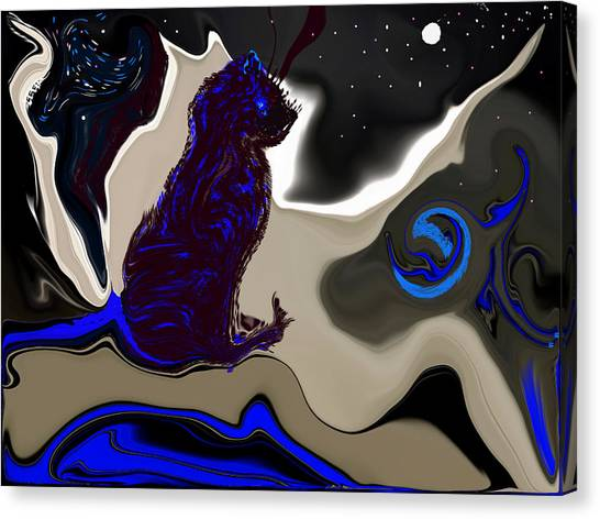 Astrology Class Canvas Print by Sherri's - Of Palm Springs