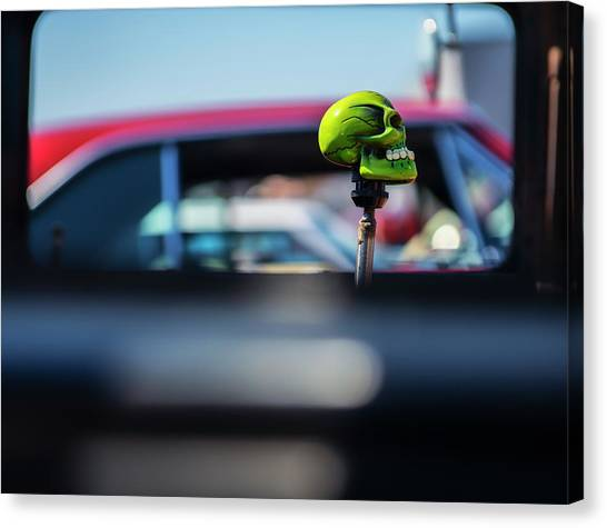 At The Car Show Canvas Print by Larry Helms