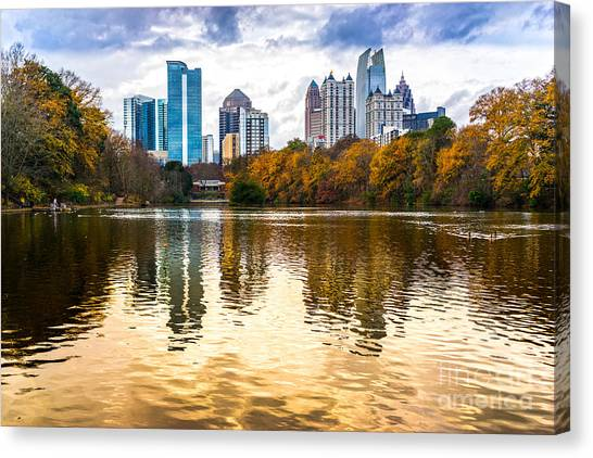 Atlanta - Usa Canvas Print