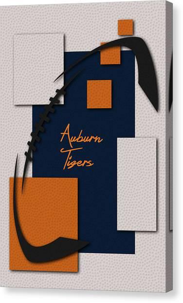 Auburn University Canvas Print - Auburn Tigers by Joe Hamilton