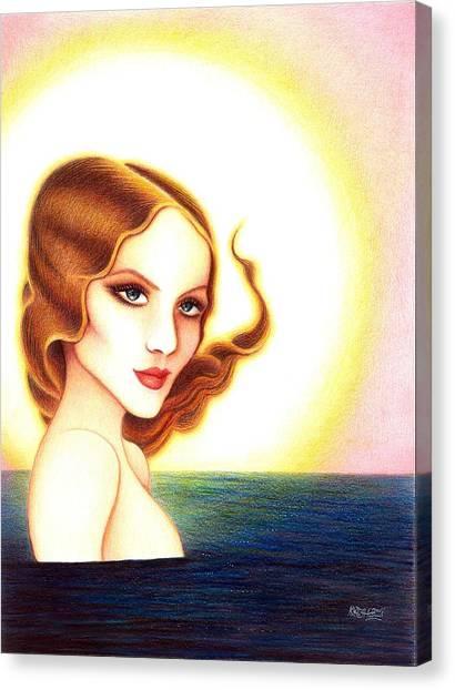 August Honey Canvas Print