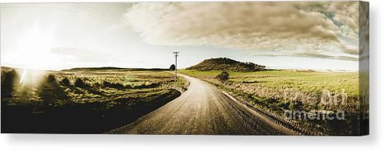 Dirt Road Canvas Print - Australian Rural Road by Jorgo Photography - Wall Art Gallery