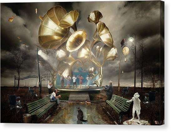 Autum_waltz Canvas Print by Alexander Kruglov
