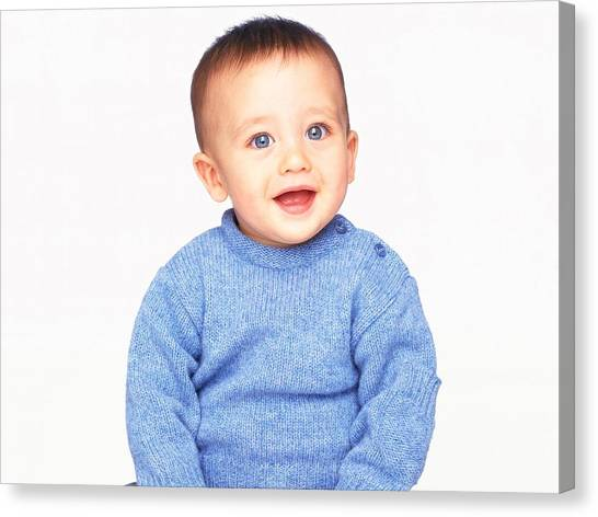 Innocent Canvas Print - Baby by Maye Loeser