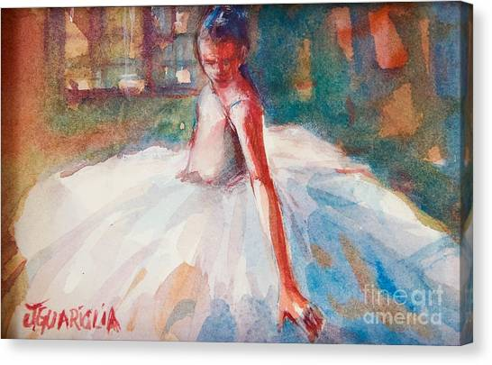 Ballerina 2 Canvas Print by Joyce A Guariglia