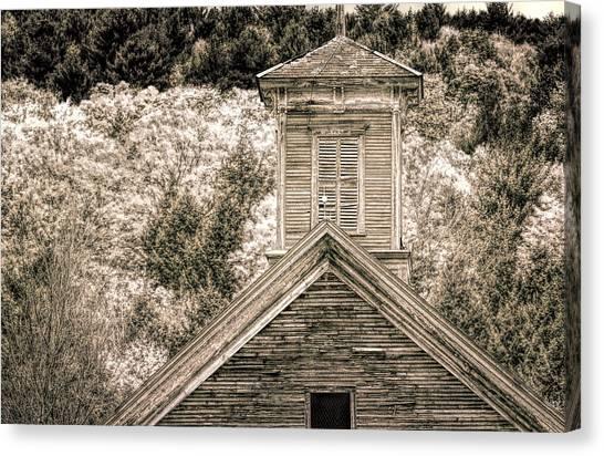 Barn Montgomery Vermont Canvas Print