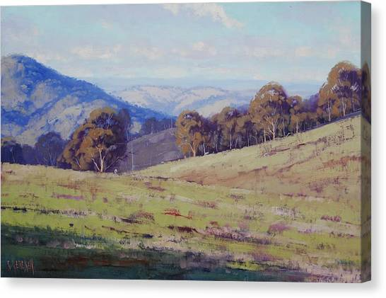 Realistic Canvas Print - Bathurst Landscape by Graham Gercken