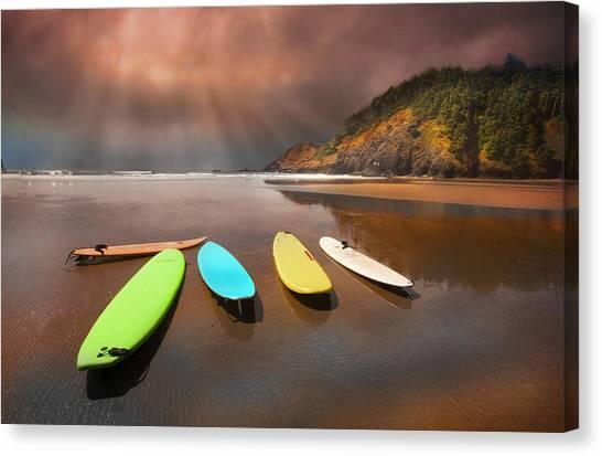 Beach Pleasure Canvas Print