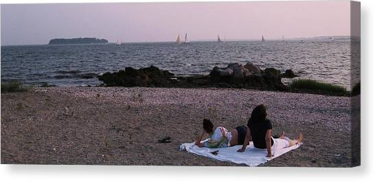 Beach Time Canvas Print