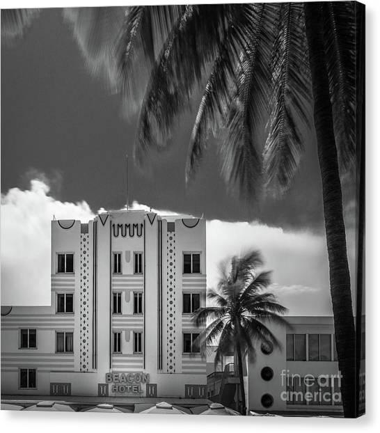 Beacon Hotel Miami Canvas Print