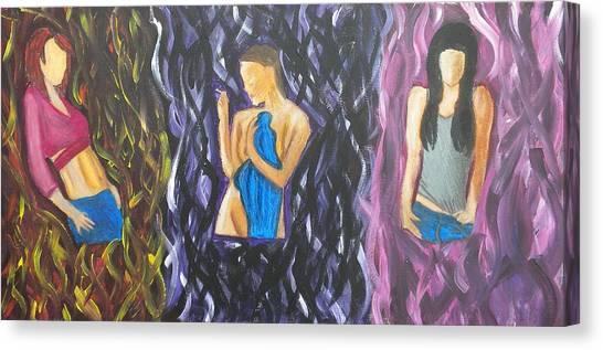 Beauty Of Women  Canvas Print