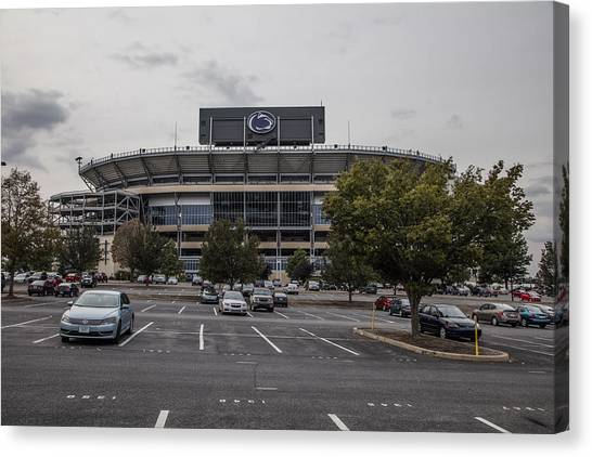 Penn State University Canvas Print - Beaver Stadium Penn State  by John McGraw